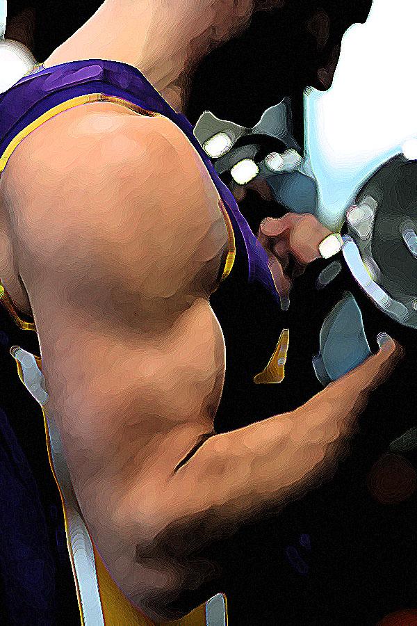 Entrenando los bíceps