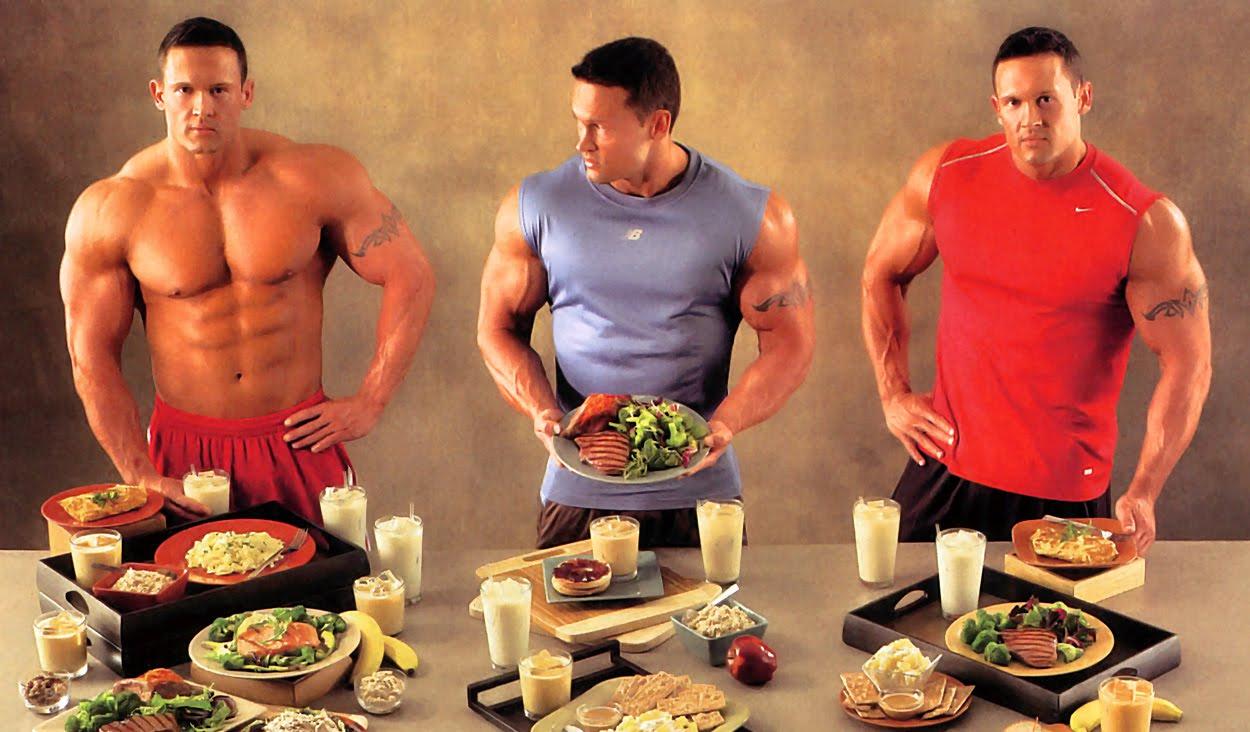 dieta para nadadores para construir músculo