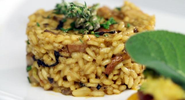 Receta de arroz con setas ricas y saludables for Arroz con setas y trufa