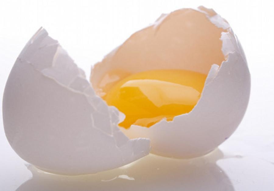 Grasa en clara de huevo