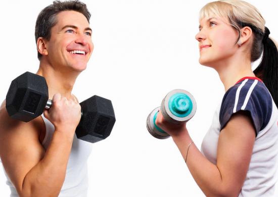 Adelgazar y subir masa muscular consiste