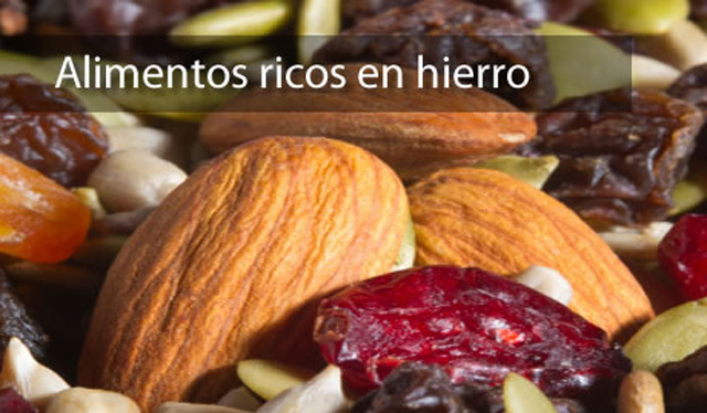Alimentos ricos en hierro por qu son necesarios pictures to pin on pinterest - Lista de alimentos ricos en hierro ...