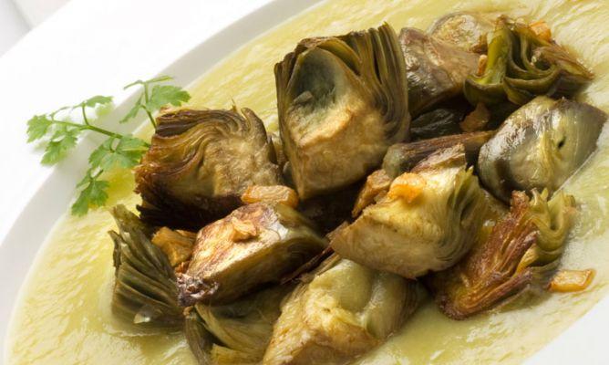 C mo preparar alcachofas recetas deliciosas - Como hacer alcachofas en salsa ...