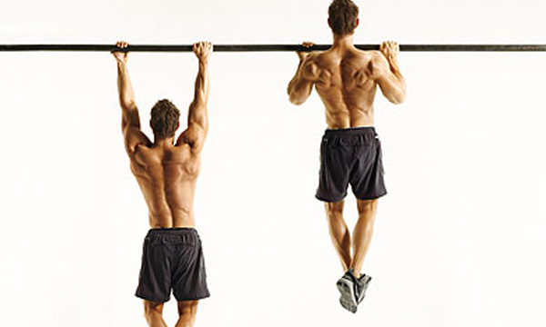 Ejercicios con barra de dominadas - Barras de ejercicio para casa ...