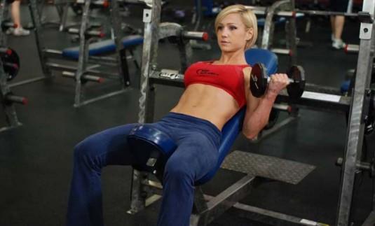 Cómo ejercitar el bíceps braquial