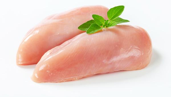Conteo de calorías: pechuga de pollo