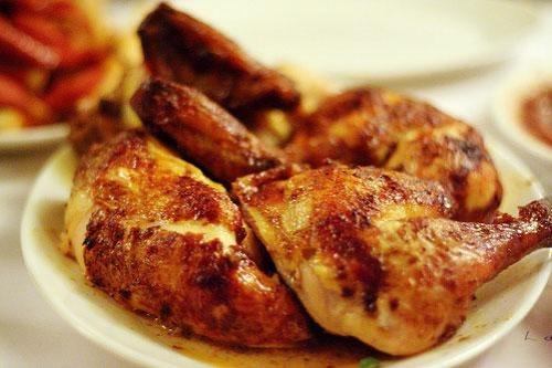 calor as pollo asado cu ntas tiene