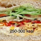Calorías sándwich mixto