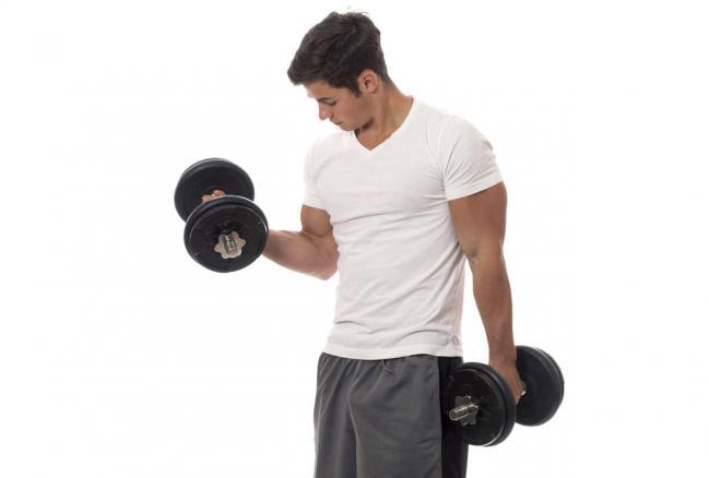 Ejercicios de triceps con mancuernas for Pesas y mancuernas