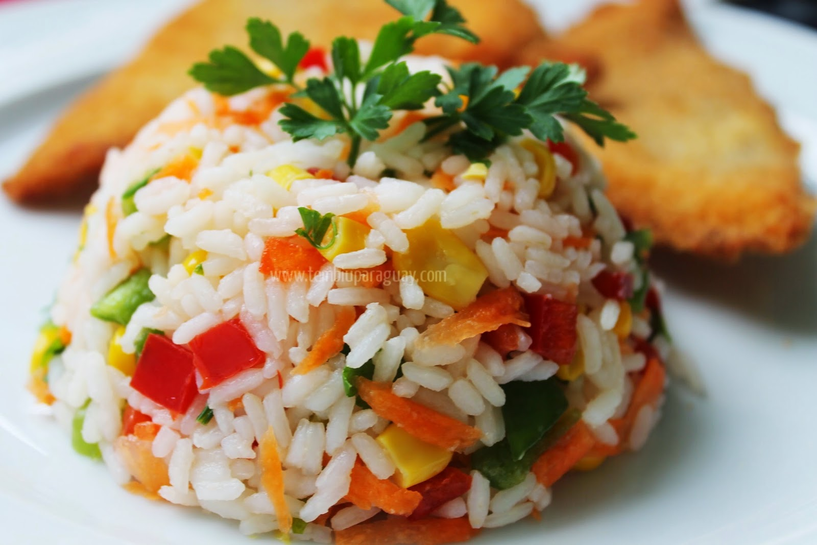 Ensaladas de arroz for Cocinar 2 tazas de arroz