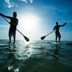 Nuevas variantes al surf: el Paddle Surf para ponernos en forma