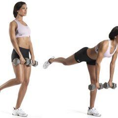 Como realizar el peso muerto con mancuerna a una pierna