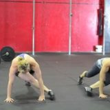Flexiones del saltamontes