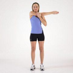 Estiramientos brazos: Mejorar flexibilidad en el hombro