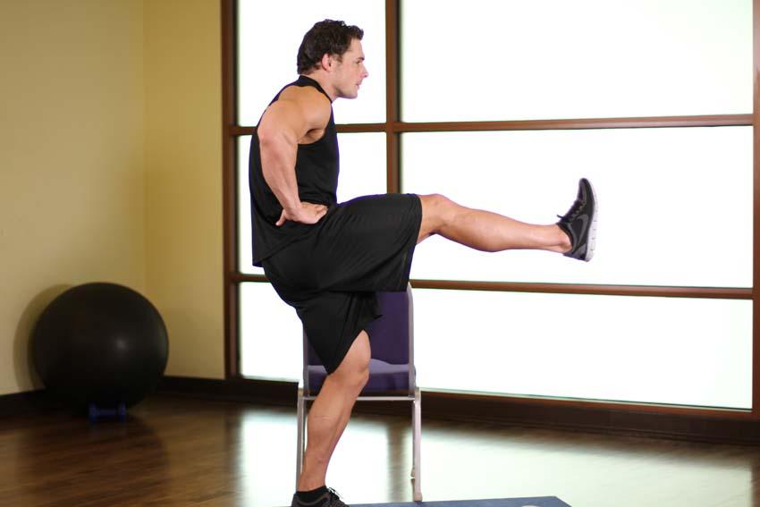 Elevaciones frontales de pierna