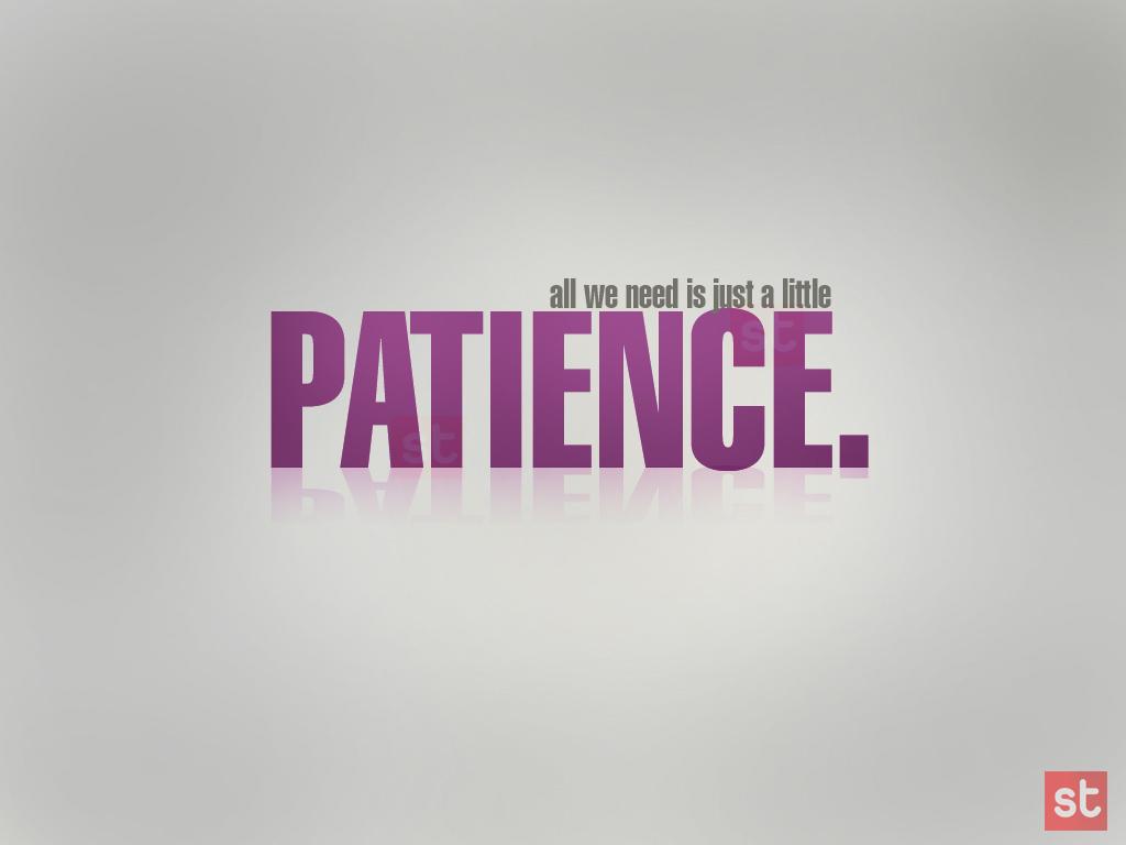 La paciencia: la clave del éxito