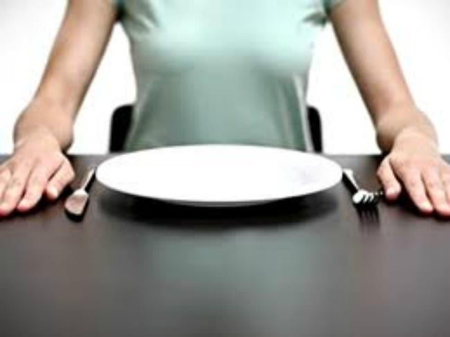 No comer para adelgazar