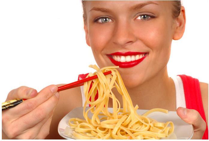 Dieta fácil con pastas