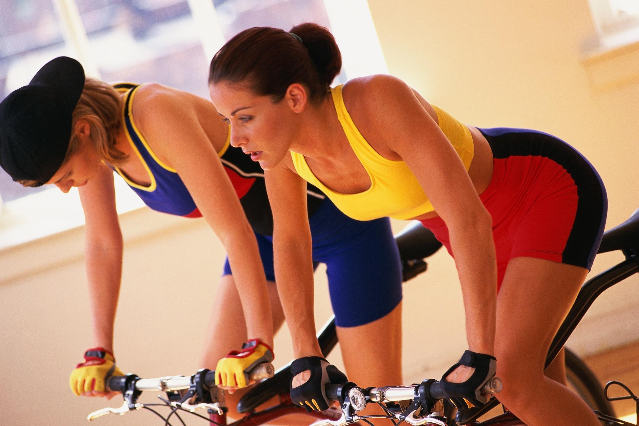 Eliminar grasa con spinning