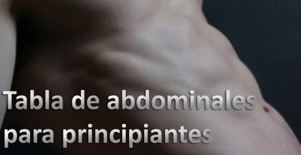 Tabla de abdominales