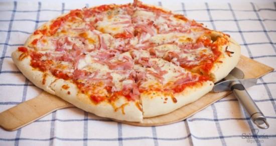 Recetas de pizzas caseras, bajas en grasas y calorías