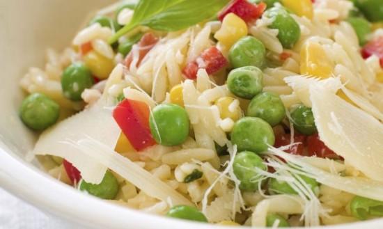 Recetas de ensaladas de arroz  frescas y saludables