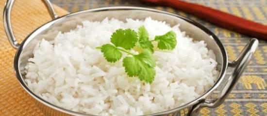 Arroz basmati: información nutricional para el organismo