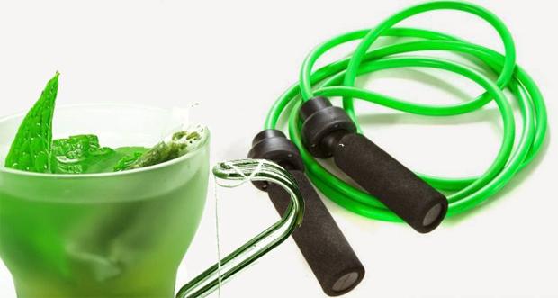 Entrenamiento y té verde adelgaza