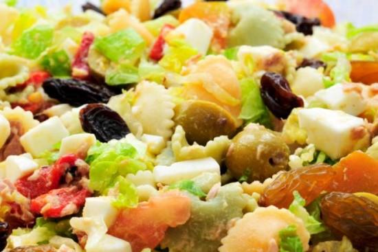 Recetas de ensalada de pasta light nutritivas