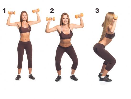 Tonificación muscular: ejercicios para hacer en casa