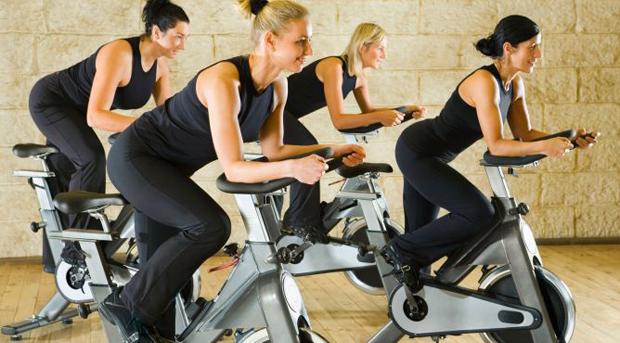 ejercicios de spinning para adelgazar videos