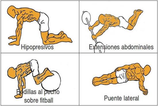 Abdominales ejercicios avanzados