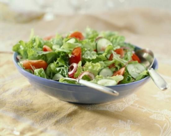 Dieta disociada: menú semanal
