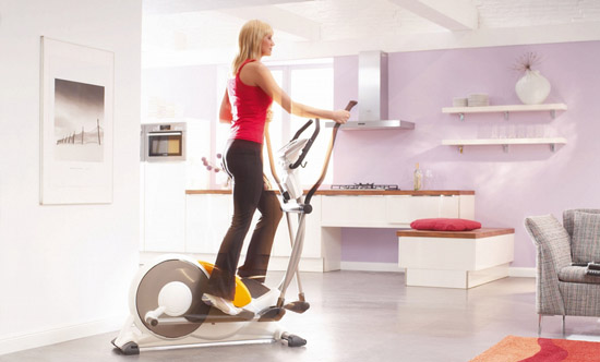 Bicicleta eliptica para adelgazar