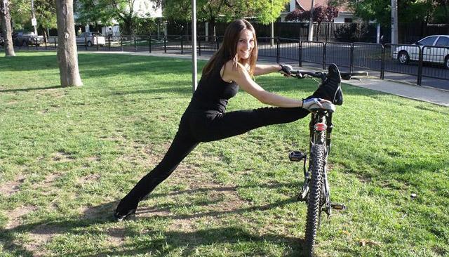 Estiramientos en ciclismo