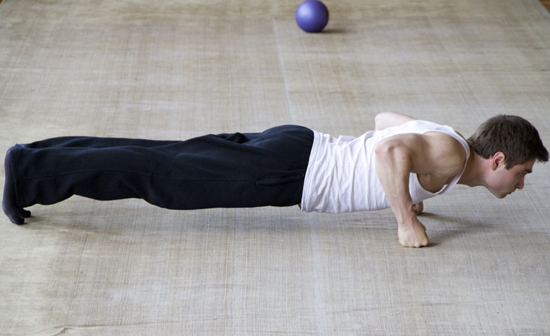 Flexiones para pectorales