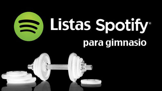 Música de gimnasio en Spotify