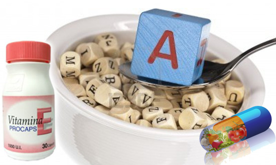 Vitamina A y E