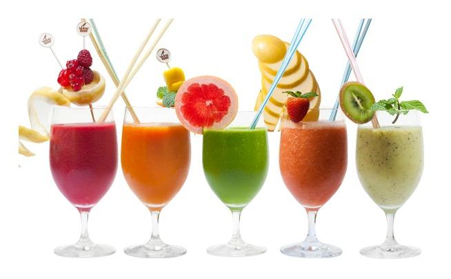 Receta de zumos naturales