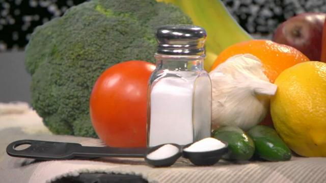 Alimentos ricos en sodio