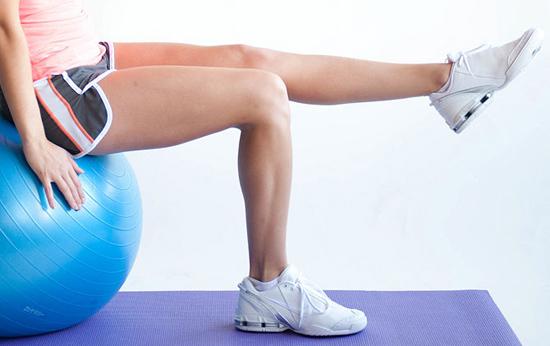 Ejercicios con pelota de Pilates