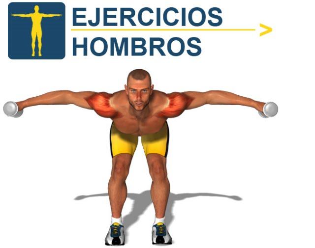 4 ejercicios para hombros con mancuernas barras y polea - Barras de ejercicio para casa ...