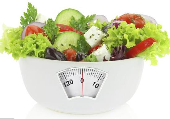 Menú Dieta hipocalórica para bajar de peso