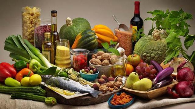 Menú dieta mediterranea