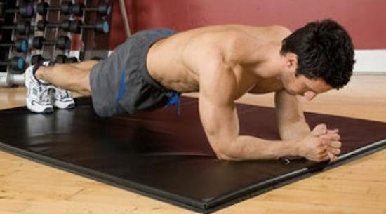 Tabla ejercicios abdominales: ejercicios para hacer en casa