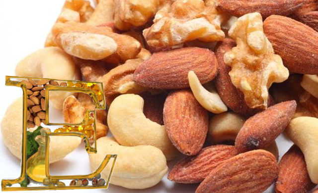alimentos ricos en vitamina E