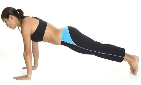 Cómo hacer flexiones de brazos
