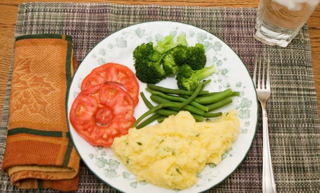 Ejemplos de cenas saludables para adelgazar