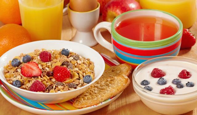 Desayuno ideal para perder peso