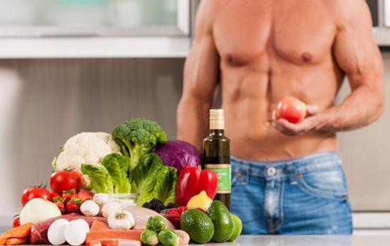 Dieta de gimnasio para definición muscular